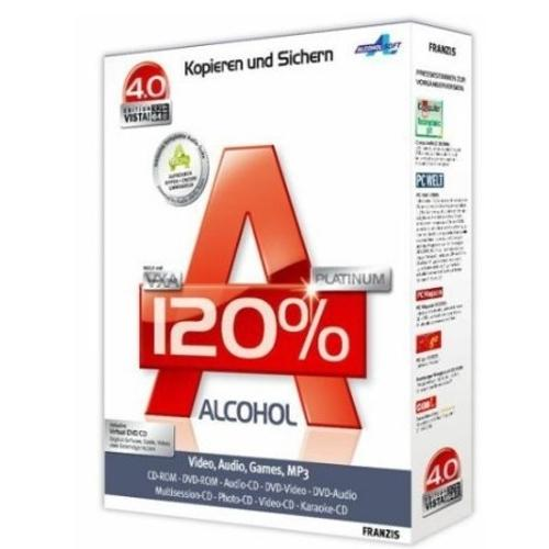 Alcohol 120% - T�l�charger 2.0.1.2033