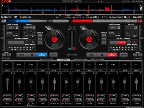 Virtual DJ Home Free - T�l�charger 8.0.2139