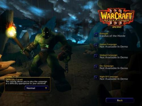 WarCraft III: Reign of Chaos Patch 1.24e - T�l�charger 1.24e