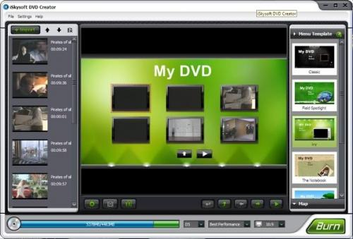 Easy DVD Creator 2.0.9 - T�l�charger 2.0.9