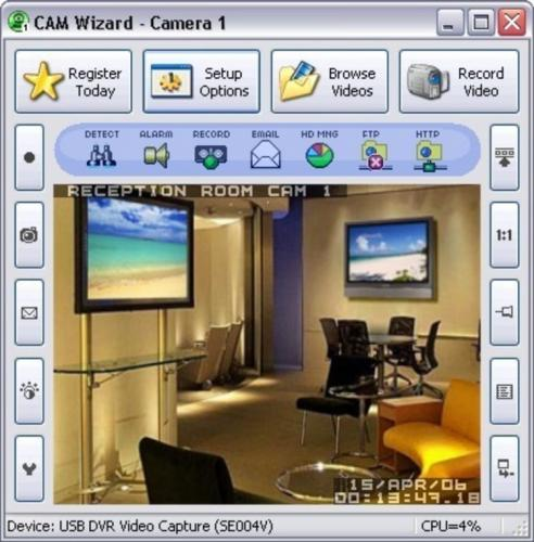 Cam Wizard 7.14 - T�l�charger 7.14
