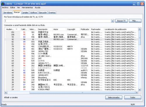 TVAnts 1.0.0.59.0836 - T�l�charger 1.0.0.59.0836