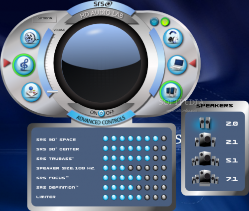 SRS Audio Sandbox 1.9.0.4 - T�l�charger 1.9.0.4
