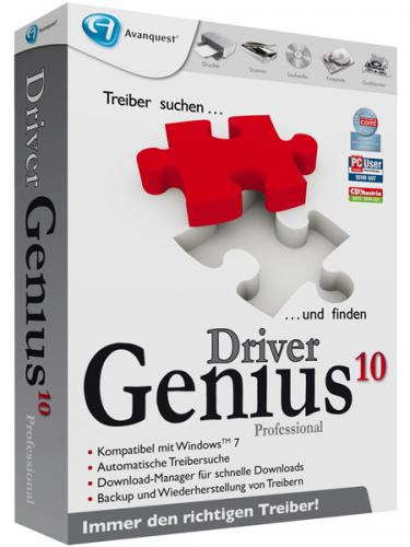 Driver Genius Professional Edition 10.0.0.761 - T�l�charger 10.0.0.761