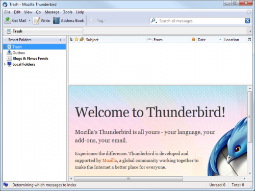 Mozilla Thunderbird - T�l�charger 5.0