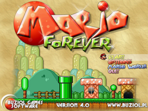 Mario Forever - T�l�charger 5.01