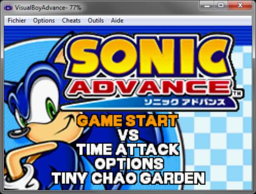 Visual Boy Advance 1.8.0 Beta 3 - T�l�charger 1.8.0 Beta 3