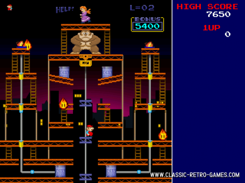 Donkey Kong Remake 1.0 - T�l�charger 1.0